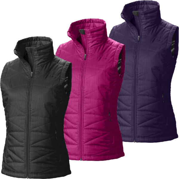 New Womens Columbia quot;Mighty Lite IIquot; Omni Heat Water Resistant Insulated Vest $49.95