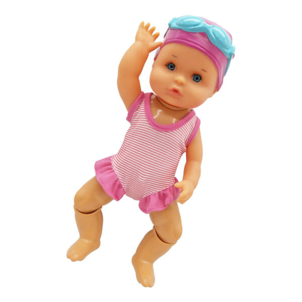 Waterproof Battery Swimming Doll Bath Toys Dolls for Kids Toys Girl Boys Toy