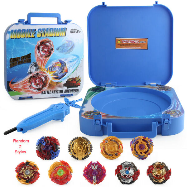 9PCS Boxed bayblade Beyblade Burst 4D Set With Launcher Arena Fight Battle Xmas