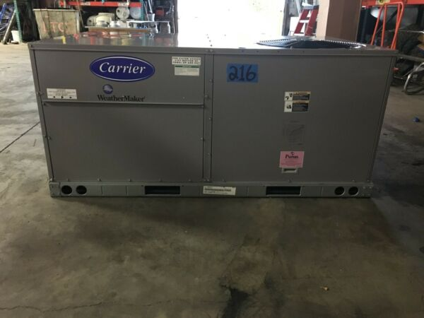 Carrier 4 Ton Rooftop Heat Pump Unit **New 2015** 50TCQA05A2A60A0A0 460 3 $1950.00