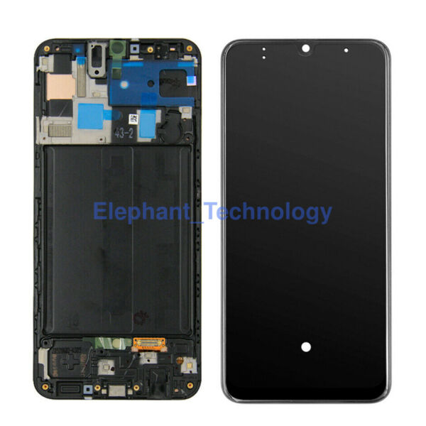 QC For Samsung galaxy A30s A30 A40 A50 LCD Screen Digitizer Replacement Frame $37.50