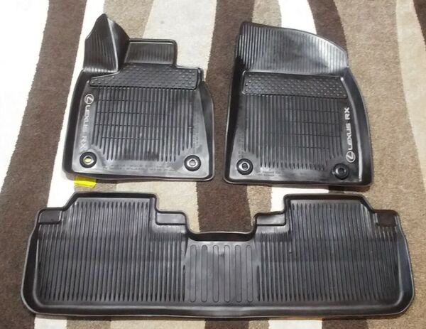 2016-2019 LEXUS RX350450H ORIGINAL FACTORY OEM ALL WEATHER FLOOR MAT SET! BLACK