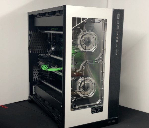 Dynamic DUO XL Front Panel Acrylic Water Cooling Reservoir for D5 pump 011 XL $349.99