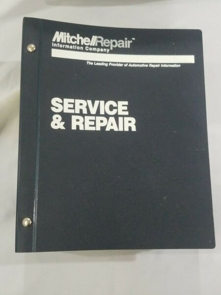 Shop Manual Mitchell Electrical Domestic Cars Light Trucks & Vans Volune #1