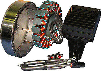 Cycle Electric 80 Series 50 AMP Alternator Kit w Stator & RegRec CE-84T-09