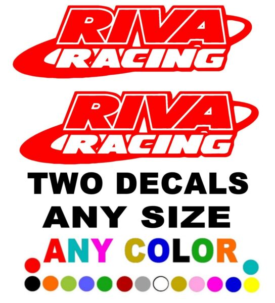 RIVA RACING STICKERS DECALS SEA DOO *ANY SIZE OR COLOR AVAILABLE* RXP RXP TWO