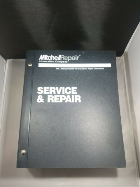 Shop Manual Mitchell 1999 engine performance domestic cars light trucks vans