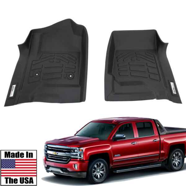 Sure Fit Floor Mats Front Fits 2014 2018 Chevy Silverado 1500 $82.65