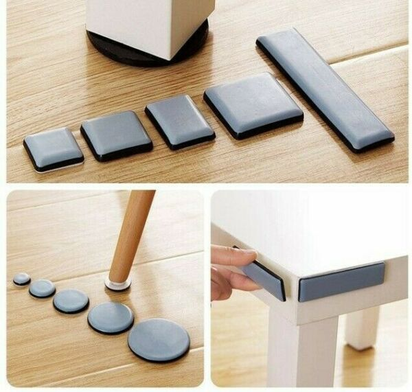 Reusable Furniture Movers for Heavy Furniture Moving Sliders Pads Set $11.36