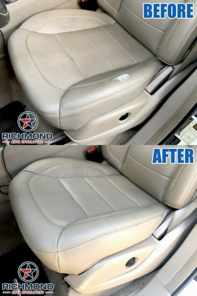 2013 2014 Mercedes Benz ML350 -Driver Side Bottom GENUINE Leather Seat Cover Tan