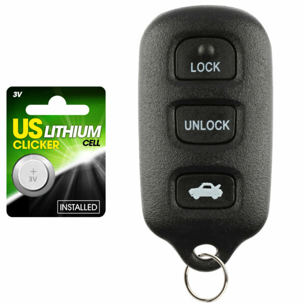 For 2002 2003 2004 2005 2006 Toyota Camry Keyless Car Remote Key Fob Gq43vt14t