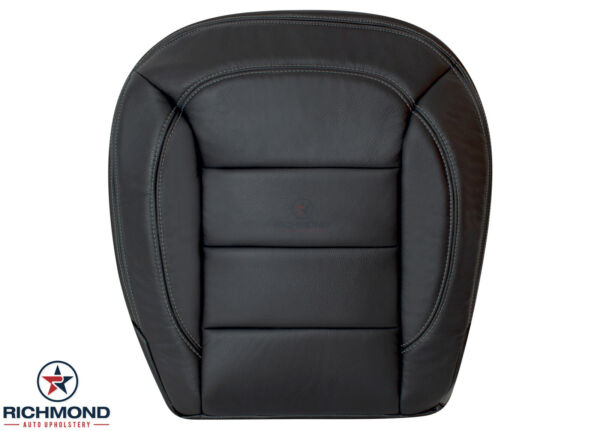 2012-2015 Mercedes ML 350 Benz ML350-Driver Side Bottom Leather Seat Cover Black