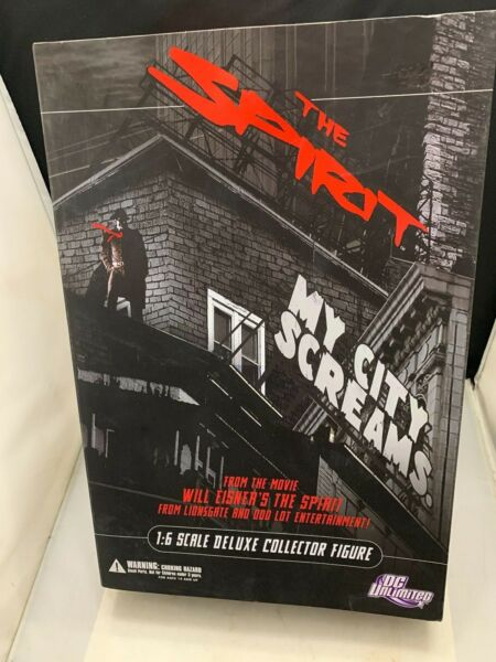 16 Scale THE SPIRIT MY CITY SCREAMS 12 inch Action Figure NIB DC UNLIMITED WOW