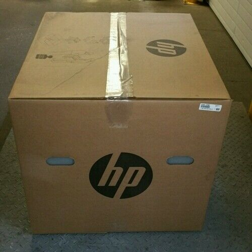 CZ263A HP 2x5001x1500-sheet Paper Feeder and Stand-