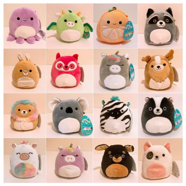 Squishmallows Kellytoy Assorted Series Animal Squad 5