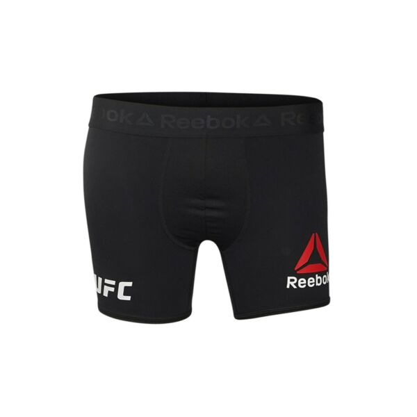 Reebok UFC Men#x27;s Black Performance Fight Brief Boxer Shorts CD9057
