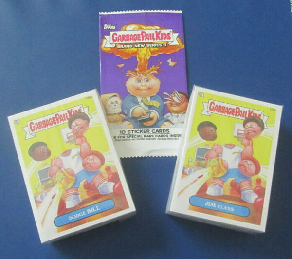 2013 GARBAGE PAIL KIDS BRAND NEW SERIES BNS3 COMPLETE SET 129-194 A