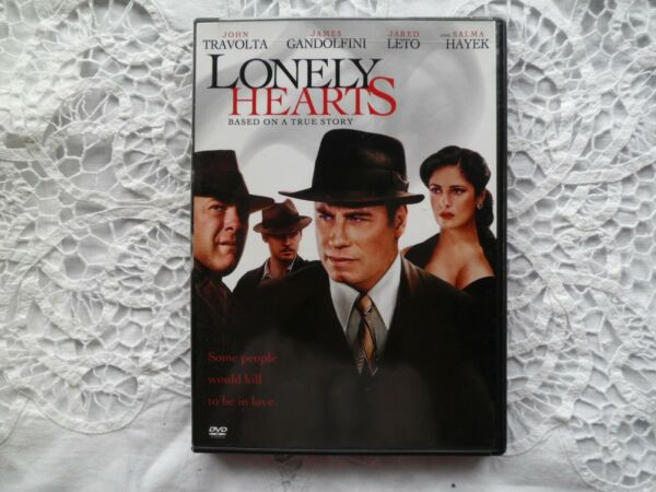 Lonely Hearts DVD John Travolta James Gandolfini Jared Leto Salma Hayek NM