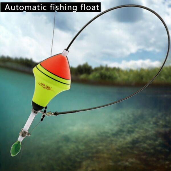 Automatic Fishing Float Useful Pesca Carp Nails Bobber Tackle Tool Outdoor