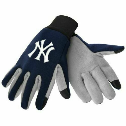 NEW YORK YANKEES TEXTING TECHNOLOGY GLOVES MLB FREE SHIPPING