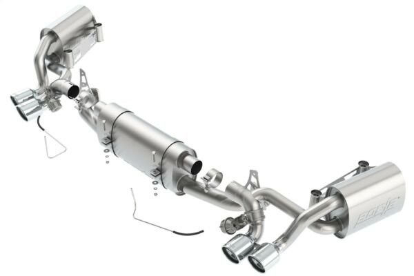 Borla 140523 S-Type Cat-Back Exhaust System Fits 13-15 911