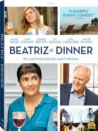 NEW Beatriz at Dinner DVD 2017 Salma Hayek John Lithgow Connie Britton MOVIE
