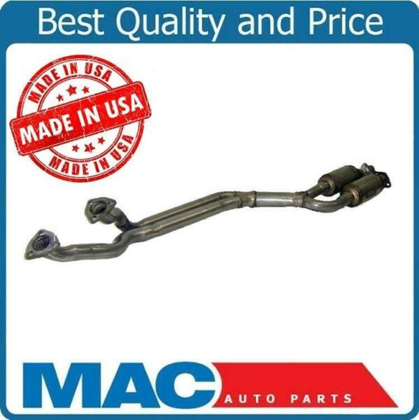 91-95 BMW 2.5L 525i Engine Y Pipe With Dual Catalytic Converter New Made in USA