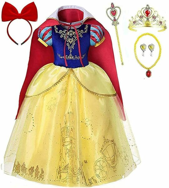 Romy#x27;s Collection Princess Snow White Costume Party Dress up Set $39.99