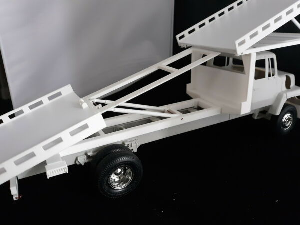 3 Car Flat Bed Wrecker Tow Truck Bed 1:24 1:25 scale Diorama $64.99