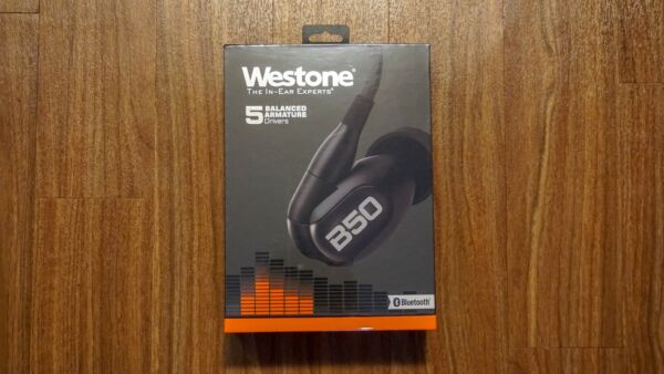Westone B50 Five-Driver True-Fit Earphones with Bluetooth Cable - New