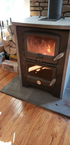 Nectre N350 wood oven wood stove $3200.00
