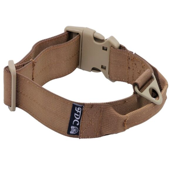 Heavy Duty Tactical Army Dog Collars Handle Width 1.5in Plastic Buckle M XXL $14.99