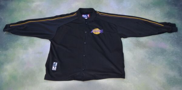 Vintage Pro Player NBA Los Angeles Lakers Warmup Jersey Jacket Size L.