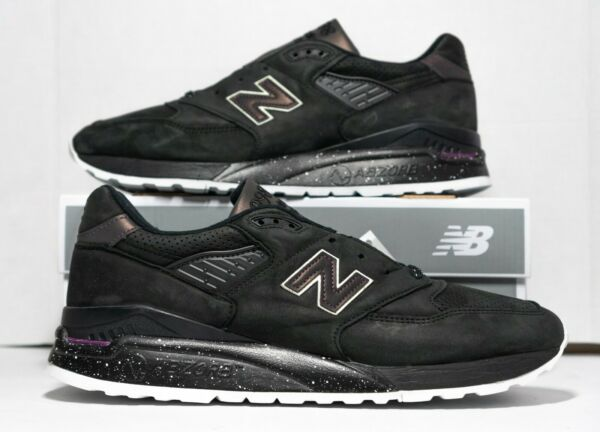 New Balance 998 Made in USA Men's 12 Northern Lights Sneakers M998ABK New