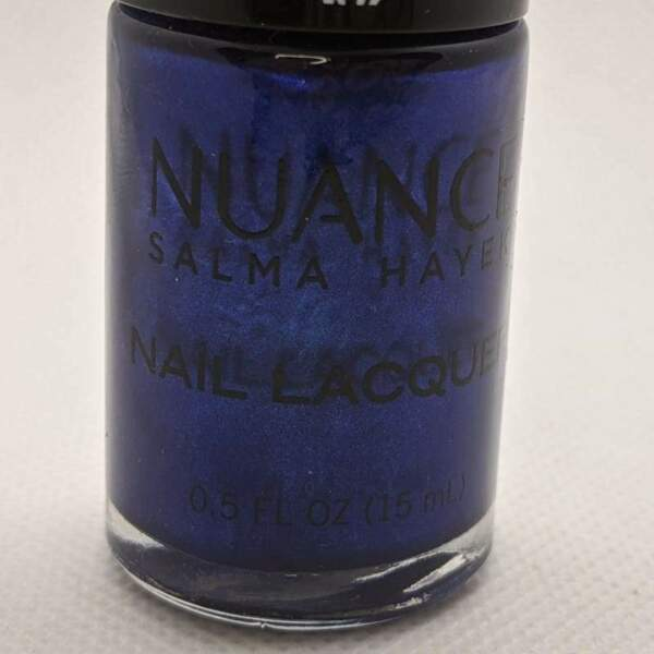 Nuance by Salma Hayek Nail Lacquer - True Azul