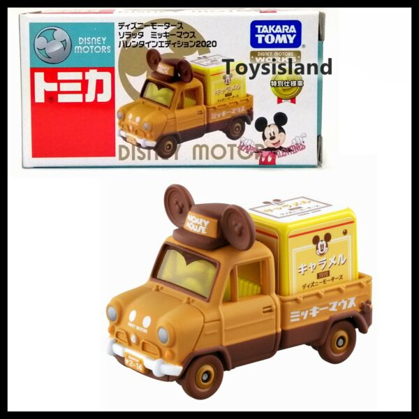TOMICA DISNEY MOTORS Valentine Edition 2020 Soratta Mickey Mouse TRUCK TOMY NEW