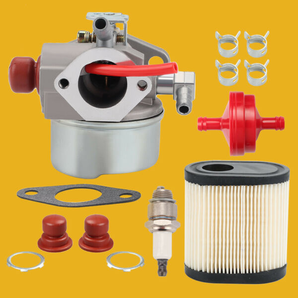 640350 Carburetor Kit For Toro 6.5HP GTS 22IN Recycler Lawnmower Tecumseh Engine $14.54