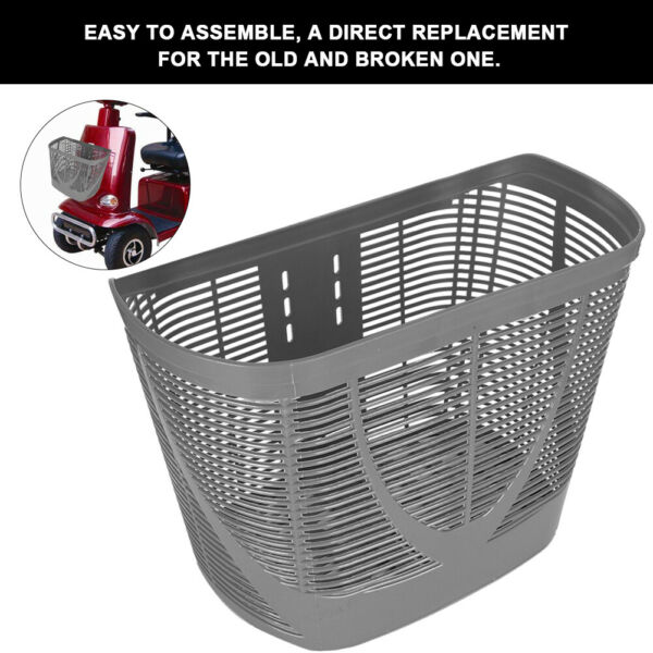 Rear Basket Accessory for Pride Mobility Scooter Sturdy Center Support $20.19