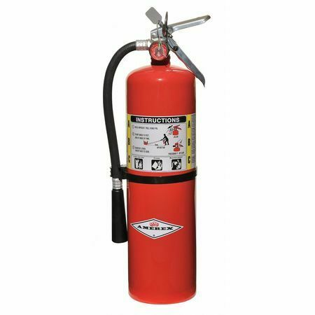 AMEREX B456 Fire Extinguisher 4A:80B:C Dry Chemical 10 lb.