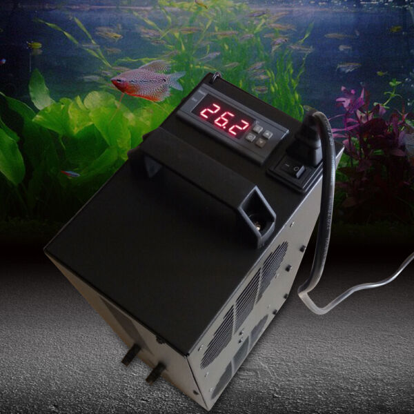 Aquarium Adjustable Thermostat Chiller 300W Cooling Fish Tank 100L Chiller $189.74