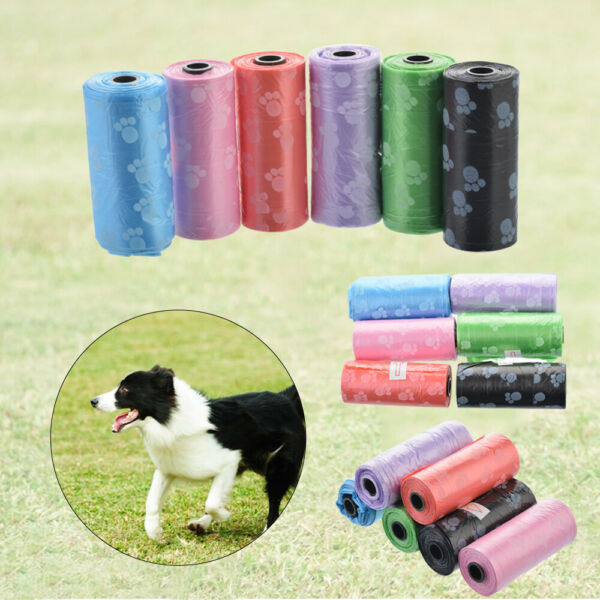 10Roll 150pcs Degradable Pet Waste Garbage Refill Up Clean Cat Dog Bags Poop bag $0.99