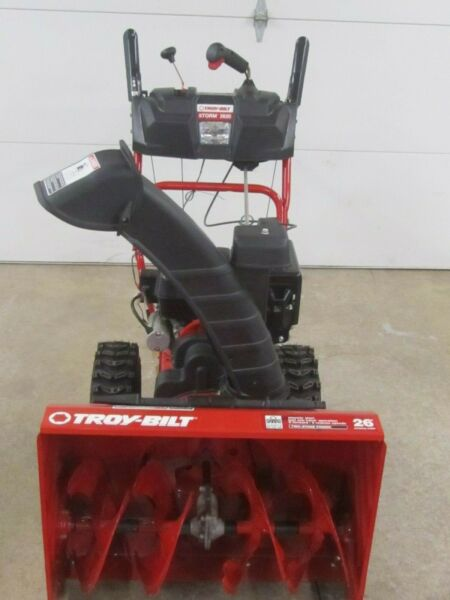 Troy- Bilt Storm 2620 Electric Start Snow Blower Two Stage NEW