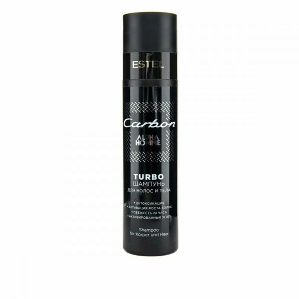 ESTEL Professional CARBON Turbo TURBO Shampoo for Hair and Body 250 ml $29.71