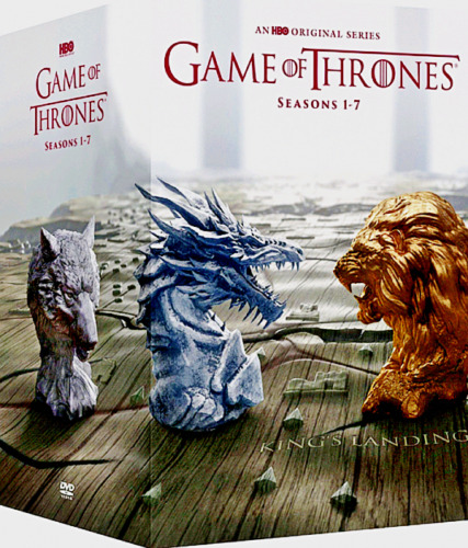 GAME OF THRONES COMPLETE SERIES SEASONS1-7 (DVD 34-Disc Boxed Set) SEALED