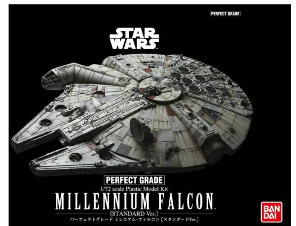Star Wars MILLENNIUM FALCON Plastic Model Kit 172 Perfect Grade - Standard Ver.