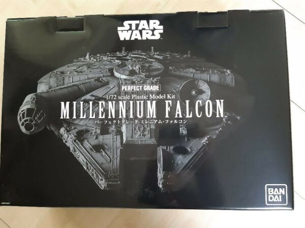 Star Wars MILLENNIUM FALCON Plastic Model Kit 172 Perfect Grade Bandai 216384