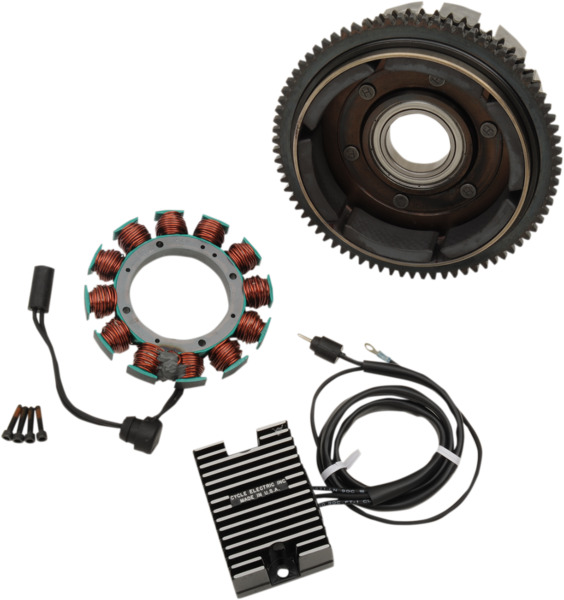 Cycle Electric 19A at 2500 rpm Alternator Kit w Stator & RegRec CE-19S