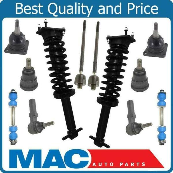 Struts Coil Spring Sway Bar Links Ball Joints Tie Rods For 93-02 Camaro 12pc NEW