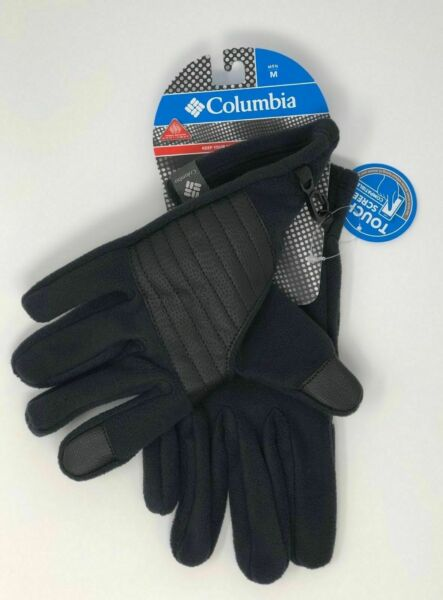 NWT Columbia Mens Omni Heat Agent Heat II Reflective Fleece Glove Size XL