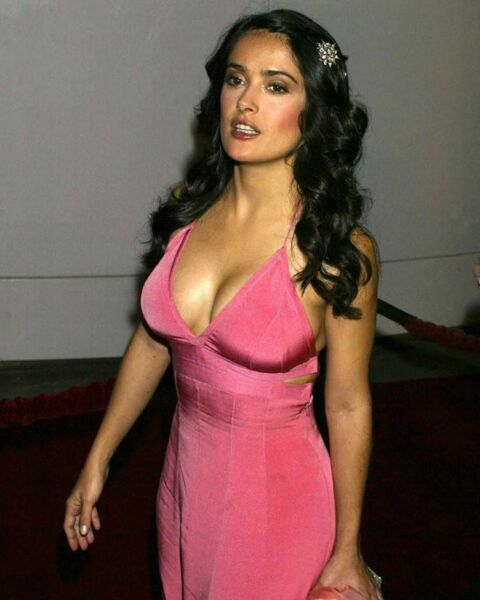Salma Hayek Distracted 8x10 Picture Celebrity Print
